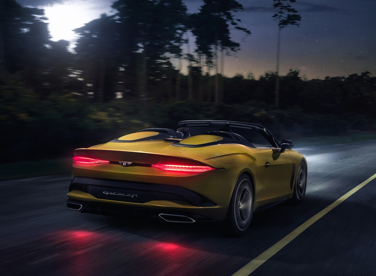 2021 Bentley Mulliner Bacalar Rear Three-Quarter Wallpapers (6)