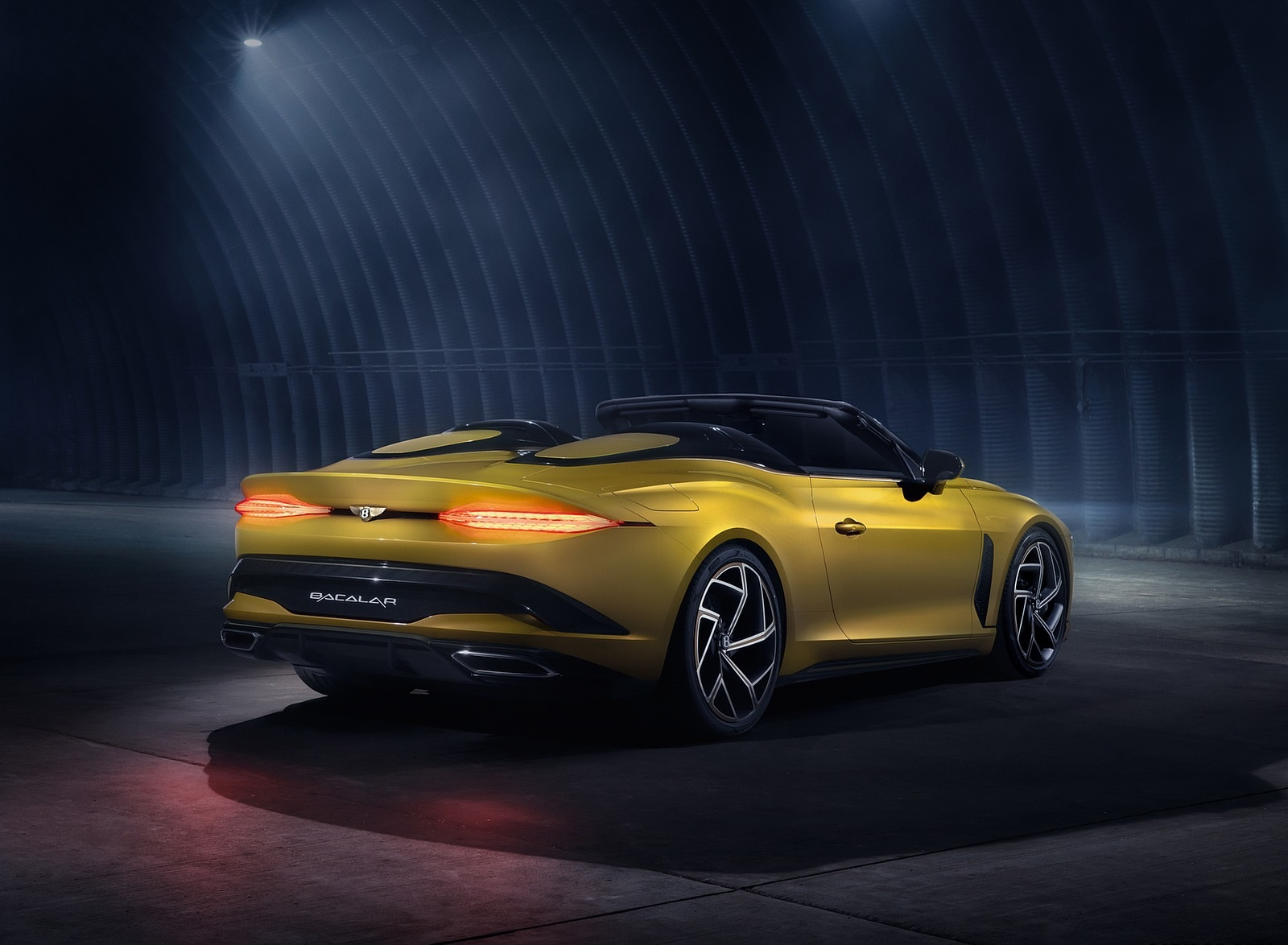 2021 Bentley Mulliner Bacalar Rear Three-Quarter Wallpapers (7)