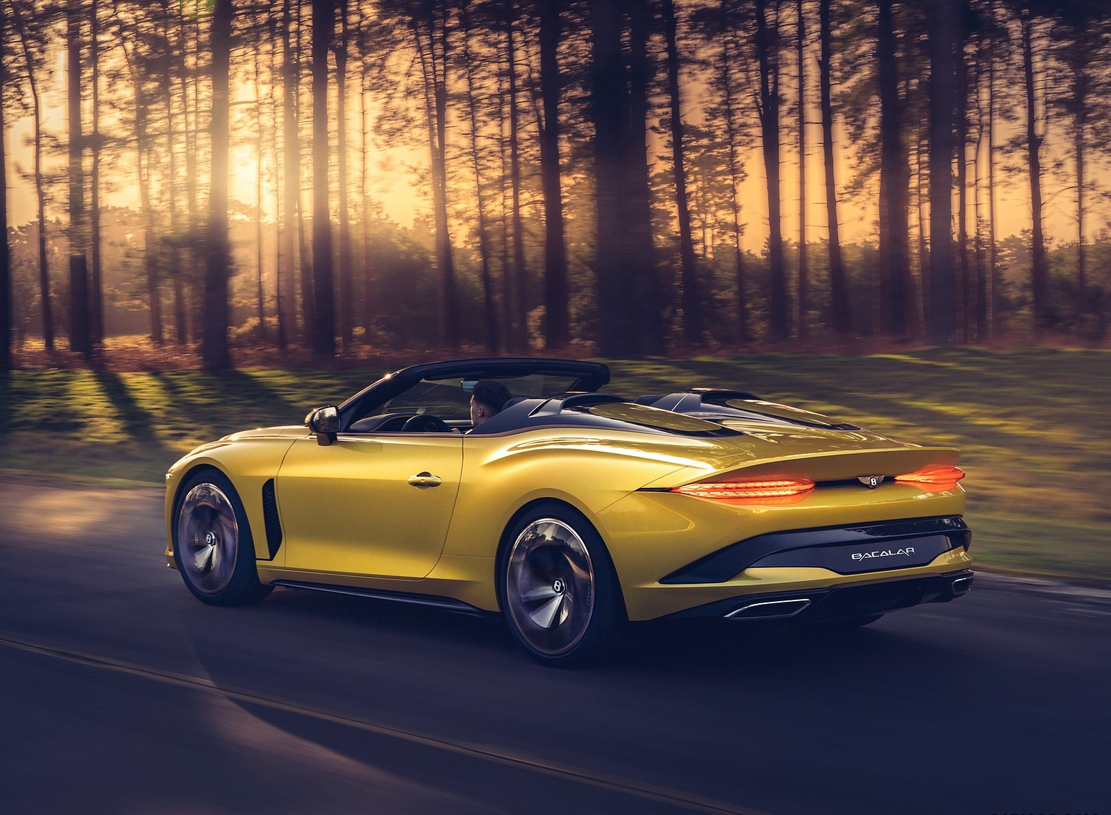 2021 Bentley Mulliner Bacalar Rear Three-Quarter Wallpapers (2)