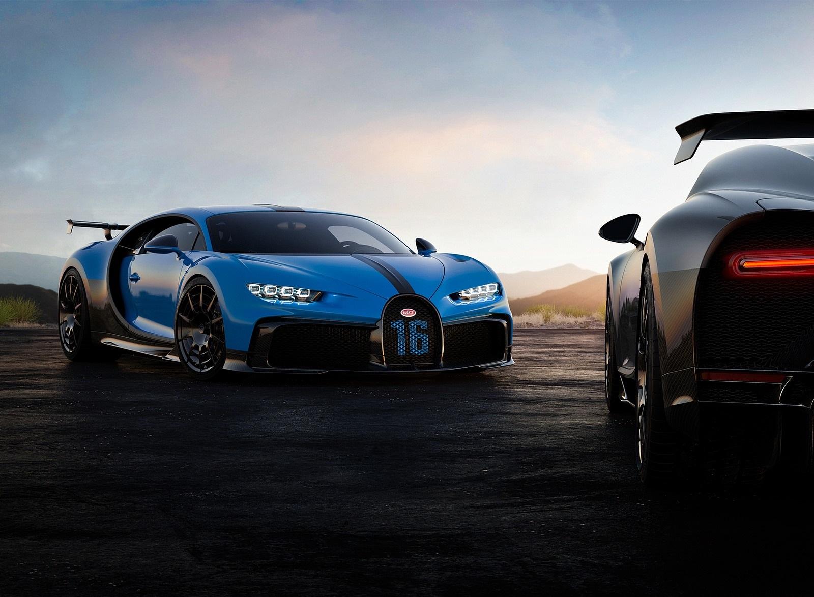 2021 Bugatti Chiron Pur Sport Front Three-Quarter Wallpapers (7)