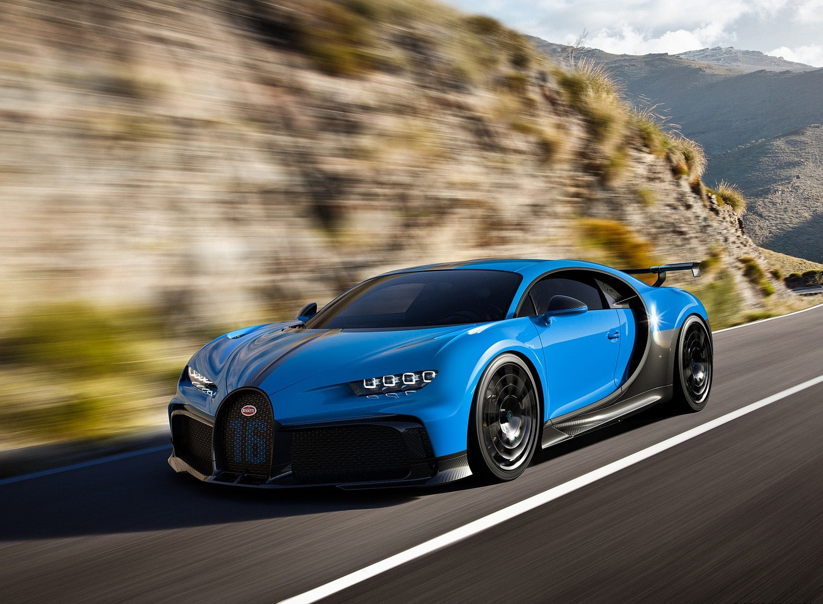 2021 Bugatti Chiron Pur Sport Front Three-Quarter Wallpapers (1)