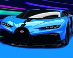 2021 Bugatti Chiron Pur Sport Front Wallpapers 150x120 (42)