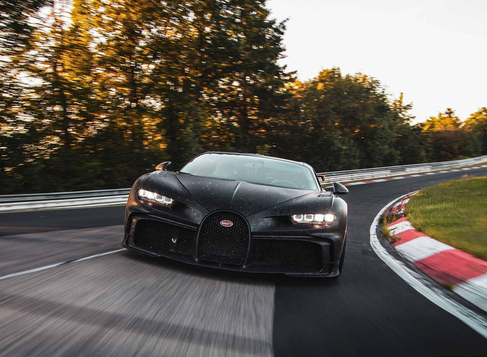 2021 Bugatti Chiron Pur Sport Front Wallpapers (8)
