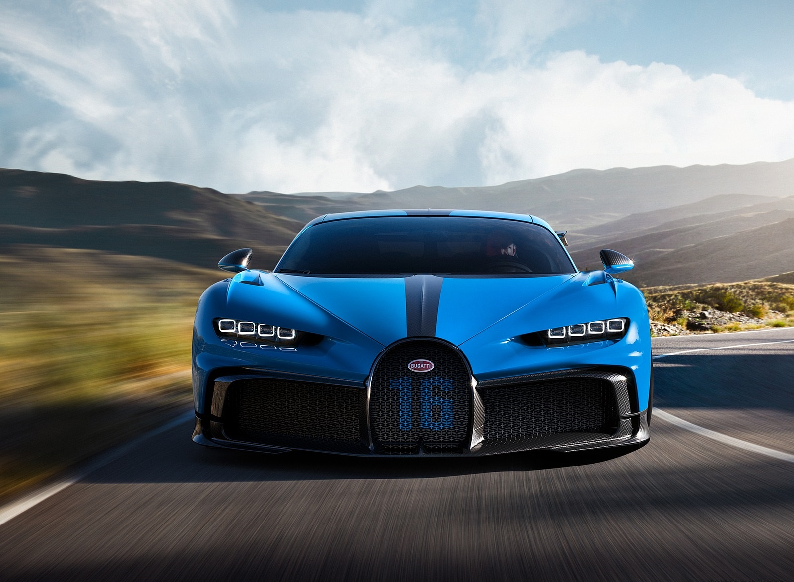 2021 Bugatti Chiron Pur Sport Front Wallpapers (2)
