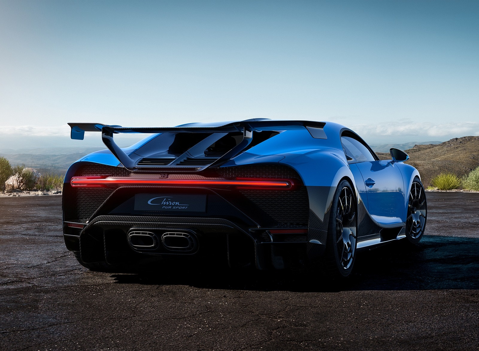 2021 Bugatti Chiron Pur Sport Rear Three-Quarter Wallpapers (8)
