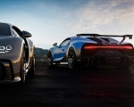 2021 Bugatti Chiron Pur Sport Rear Three-Quarter Wallpapers 150x120 (50)