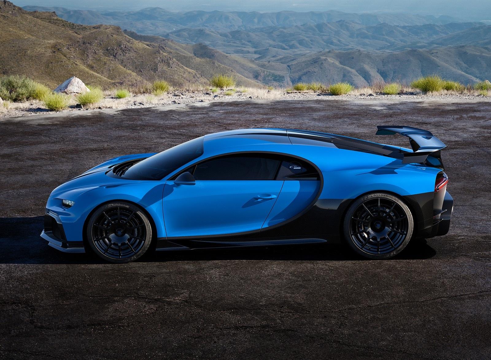 2021 Bugatti Chiron Pur Sport Side Wallpapers (10)
