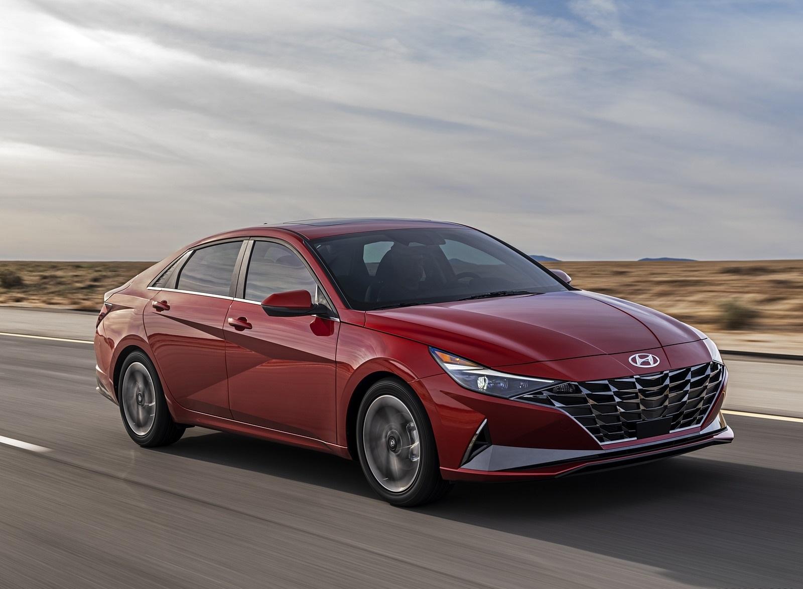 2021 Hyundai Elantra Front Three-Quarter Wallpapers (1)