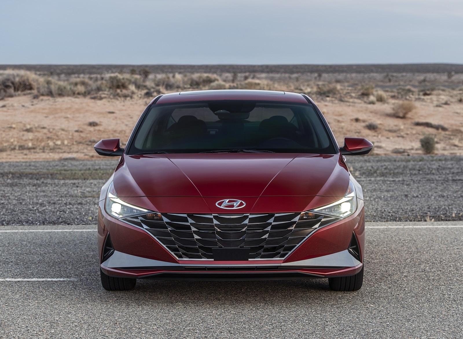 2021 Hyundai Elantra Front Wallpapers (5)