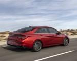 2021 Hyundai Elantra Rear Three-Quarter Wallpapers 150x120 (2)