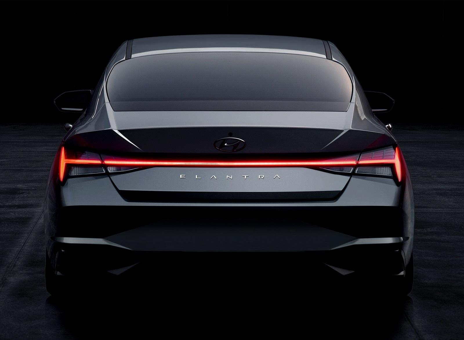 2021 Hyundai Elantra Rear Wallpapers (10)