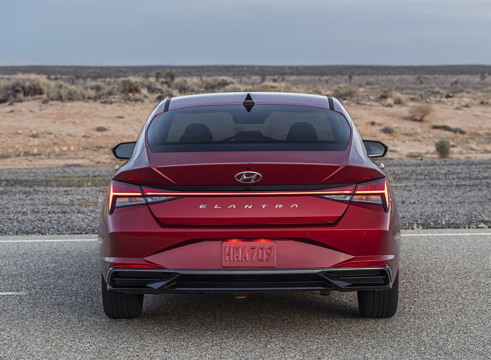 2021 Hyundai Elantra Rear Wallpapers (8)