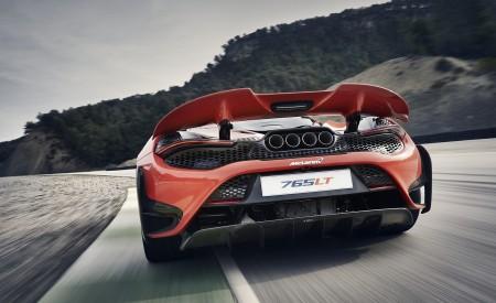 2021 McLaren 765LT Rear Wallpapers 450x275 (8)
