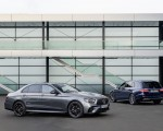 2021 Mercedes-AMG E 53 4MATIC+ Night Package (Color: Selenite Grey Metallic) Front Three-Quarter Wallpapers 150x120 (10)