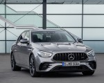2021 Mercedes-AMG E 53 4MATIC+ Night Package (Color: Selenite Grey Metallic) Front Three-Quarter Wallpapers 150x120 (9)