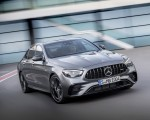 2021 Mercedes-AMG E 53 4MATIC+ Night Package (Color: Selenite Grey Metallic) Front Three-Quarter Wallpapers 150x120 (1)