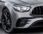 2021 Mercedes-AMG E 53 4MATIC+ Night Package (Color: Selenite Grey Metallic) Headlight Wallpapers 150x120 (16)