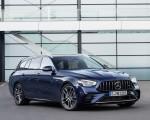2021 Mercedes-AMG E 53 Estate 4MATIC+ T-Model (Color: Cavansite Blue Metallic) Front Three-Quarter Wallpapers 150x120 (7)