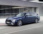 2021 Mercedes-AMG E 53 Estate 4MATIC+ T-Model (Color: Cavansite Blue Metallic) Front Three-Quarter Wallpapers 150x120 (2)