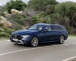 2021 Mercedes-AMG E 53 Estate 4MATIC+ T-Model (Color: Cavansite Blue Metallic) Front Three-Quarter Wallpapers 150x120 (3)