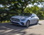 2021 Mercedes-Benz E 350 (Color: Hightech silver) Front Three-Quarter Wallpapers 150x120 (2)