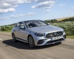 2021 Mercedes-Benz E 350 (Color: Hightech silver) Front Three-Quarter Wallpapers 150x120 (3)
