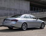 2021 Mercedes-Benz E 350 (Color: Hightech silver) Rear Three-Quarter Wallpapers 150x120 (12)