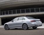 2021 Mercedes-Benz E 350 (Color: Hightech silver) Rear Three-Quarter Wallpapers 150x120 (11)