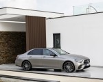 2021 Mercedes-Benz E-Class AMG line (Color: Mojave Silver Metallic) Front Three-Quarter Wallpapers 150x120 (41)