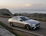 2021 Mercedes-Benz E-Class AMG line (Color: Mojave Silver Metallic) Front Three-Quarter Wallpapers 150x120 (28)