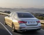 2021 Mercedes-Benz E-Class AMG line (Color: Mojave Silver Metallic) Rear Three-Quarter Wallpapers 150x120 (30)