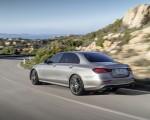 2021 Mercedes-Benz E-Class AMG line (Color: Mojave Silver Metallic) Rear Three-Quarter Wallpapers 150x120 (31)