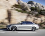 2021 Mercedes-Benz E-Class AMG line (Color: Mojave Silver Metallic) Side Wallpapers 150x120 (33)