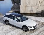 2021 Mercedes-Benz E-Class All-Terrain Line Avantgarde (Color: Designo Diamond White Bright) Front Three-Quarter Wallpapers 150x120 (28)