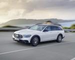 2021 Mercedes-Benz E-Class All-Terrain Line Avantgarde (Color: Designo Diamond White Bright) Front Three-Quarter Wallpapers 150x120 (4)