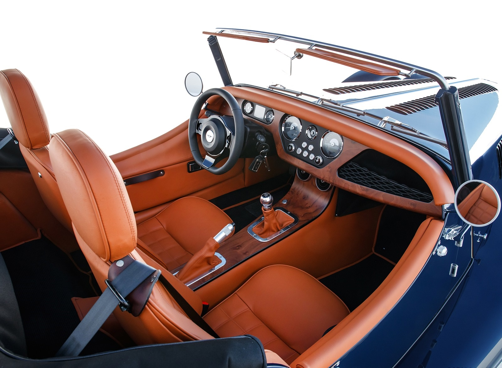 2021 Morgan Plus Four Interior Wallpapers (10)