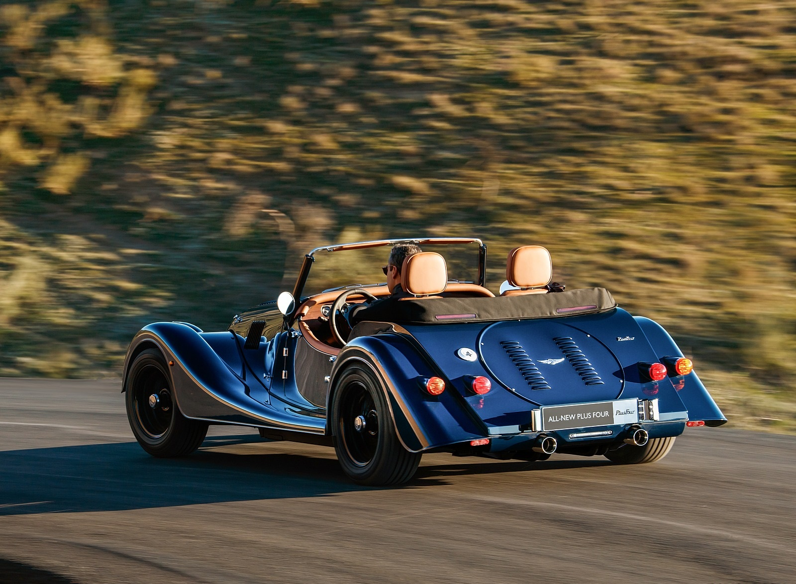 2021 Morgan Plus Four Rear Three-Quarter Wallpapers (7)