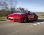 2021 Porsche 911 Turbo S Cabrio (Color: Guards Red) Front Three-Quarter Wallpapers 150x120 (31)