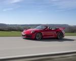 2021 Porsche 911 Turbo S Cabrio (Color: Guards Red) Front Three-Quarter Wallpapers 150x120 (33)