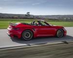 2021 Porsche 911 Turbo S Cabrio (Color: Guards Red) Rear Three-Quarter Wallpapers 150x120 (34)