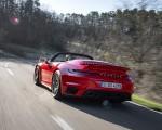 2021 Porsche 911 Turbo S Cabrio (Color: Guards Red) Rear Three-Quarter Wallpapers 150x120 (24)