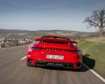 2021 Porsche 911 Turbo S Cabrio (Color: Guards Red) Rear Wallpapers 150x120 (28)