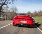 2021 Porsche 911 Turbo S Cabrio (Color: Guards Red) Rear Wallpapers 150x120 (27)