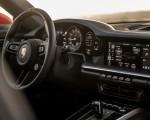 2021 Porsche 911 Turbo S Cabrio (Color: Lava Orange) Central Console Wallpapers 150x120 (19)