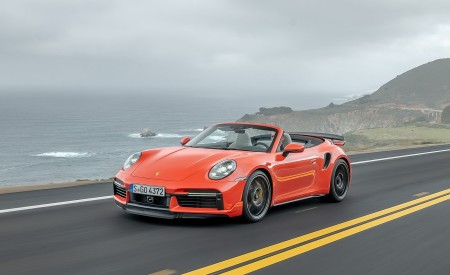 2021 Porsche 911 Turbo S Cabriolet Wallpapers HD