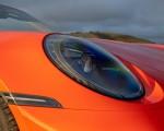 2021 Porsche 911 Turbo S Cabrio (Color: Lava Orange) Headlight Wallpapers 150x120 (14)