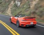 2021 Porsche 911 Turbo S Cabrio (Color: Lava Orange) Rear Three-Quarter Wallpapers 150x120 (7)