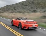 2021 Porsche 911 Turbo S Cabrio (Color: Lava Orange) Rear Three-Quarter Wallpapers 150x120 (9)