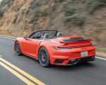 2021 Porsche 911 Turbo S Cabrio (Color: Lava Orange) Rear Three-Quarter Wallpapers 150x120 (10)