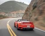 2021 Porsche 911 Turbo S Cabrio (Color: Lava Orange) Rear Wallpapers 150x120 (11)